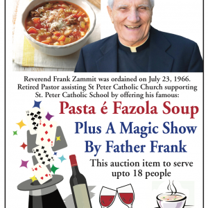 Fr Frank Pasta é Fazola Soup