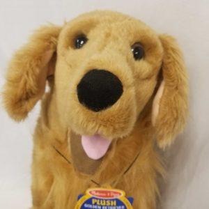 Melissa & Dog Goldie