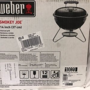 "Weber Grill Table Top ""Smokey Joe"""