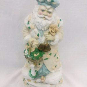 Old World Ceramic Santa