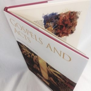 """Gospel Art Book """"First completely handwritten and illuminatedBible.."""""""