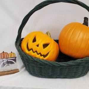 Pumpkin Decor Basket