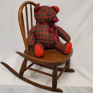 Tartin Bear & Rocking Chair