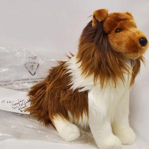 Collie Stuffed Dog